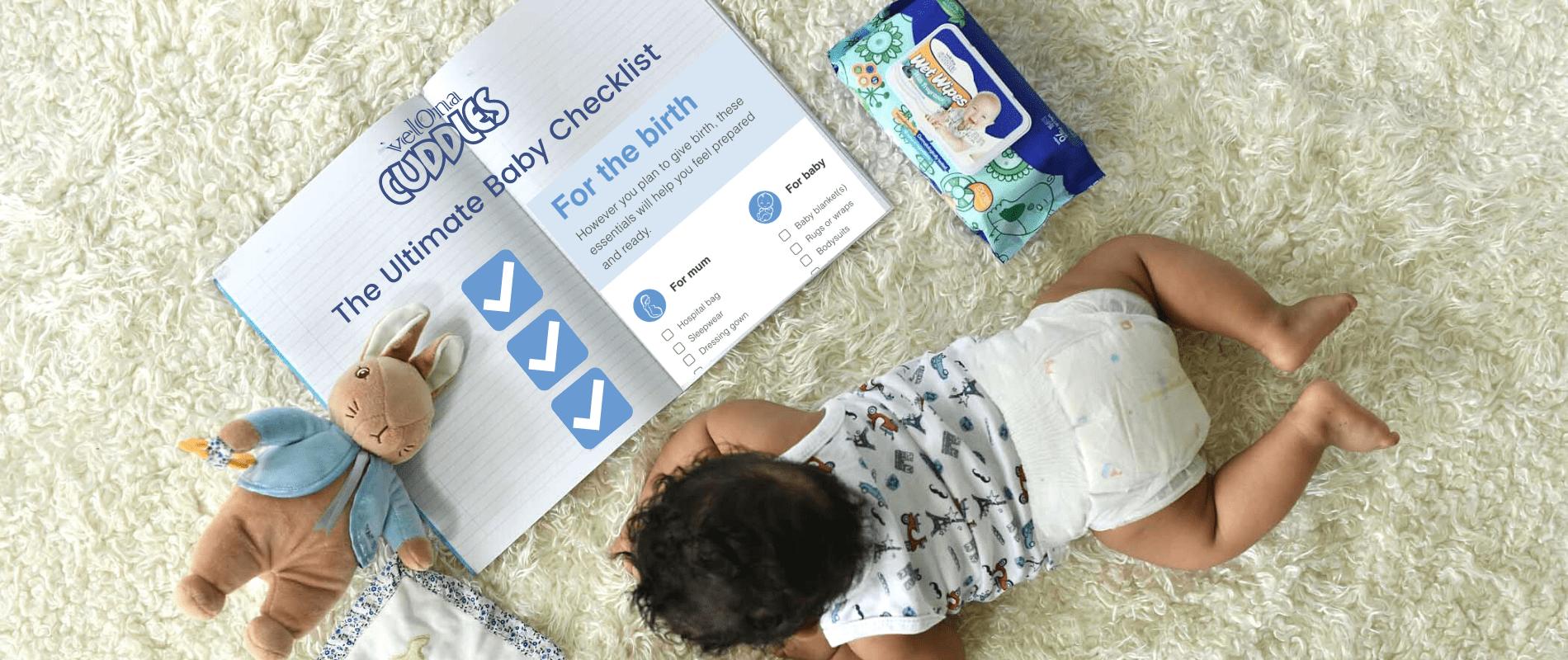 Velona Cuddles Ultimate Baby Checklist
