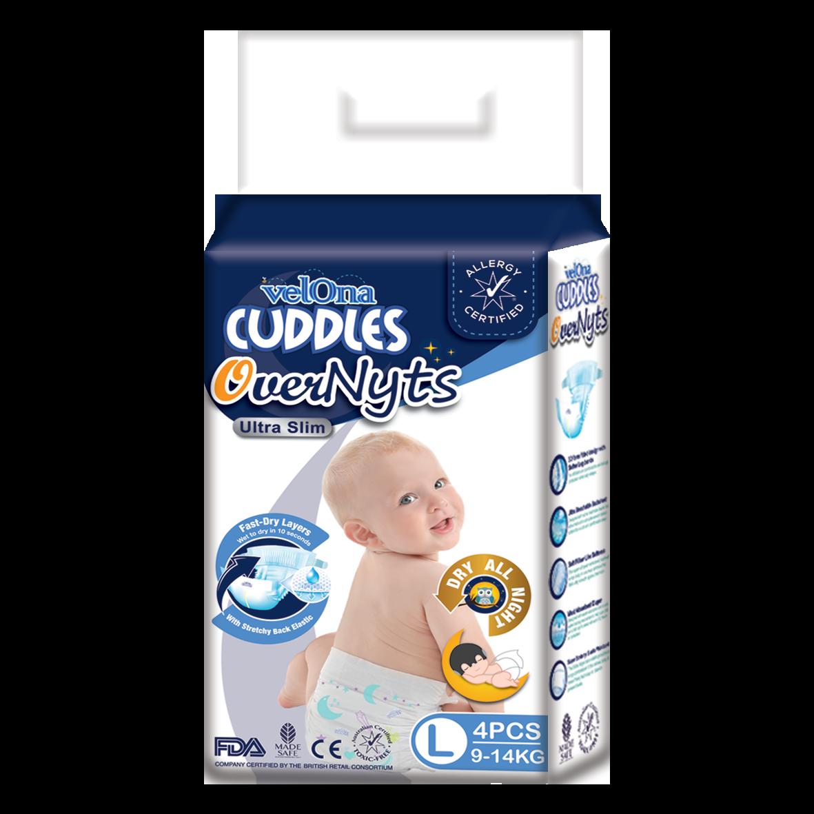 Velona Cuddles Overnyts - Minis - Large Size